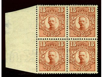 84 **, XF block of 4