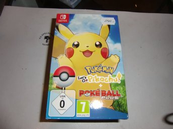 Pokemon Let´s Go Pikachu inkl Pokeball Plus