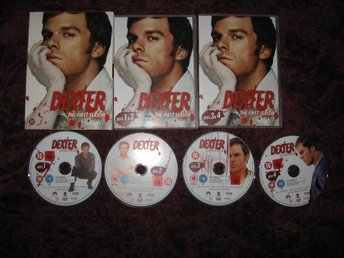 DEXTER SÄSONG 1 (4-DISC) (MICHAEL C. HALL,JULIE BENZ) DVD