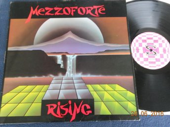 MEZZOFORTE - Rising, LP Steinar Records STE LP 06, UK 1984 Fusion, Jazz-Funk