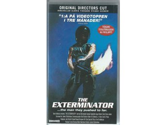 THE EXTERMINATOR - DIRECTORS CUT !!  ( SVENSK VHS FILM !!)