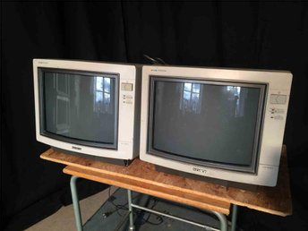 Sony trinitron display unit videomonitor KX-14CP1