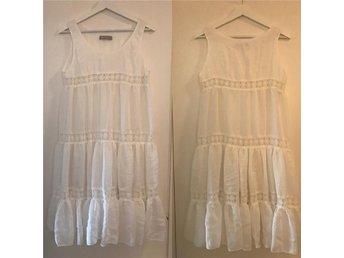 Vit klänning S/M - Lindome - Vit klänning S/M - Lindome