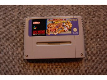 Street Fighter 2 Turbo till Super Nintendo.