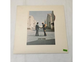 PINK FLOYD Wish You Were Here LP UK 1:a -75