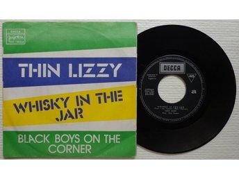 "THIN LIZZY 'Whisky In The Jar' 1973 Yugoslavian 7"" - Bröndby - THIN LIZZY 'Whisky In The Jar' 1973 Yugoslavian 7"" - Bröndby"