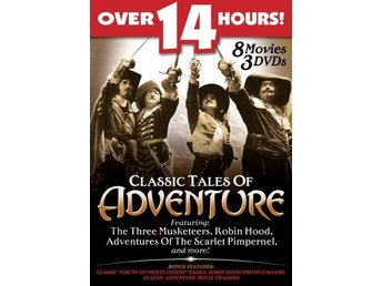 Classic Tales of Adventure 8 Movie Pack DVD Box Set - Säffle - Classic Tales of Adventure 8 Movie Pack DVD Box Set - Säffle
