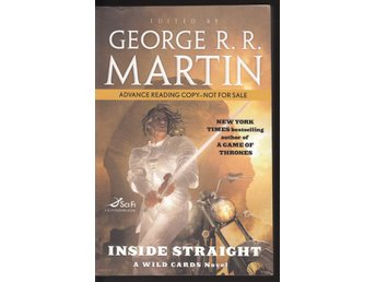 Editor George R.R. Martin -Inside straight a wild card novel