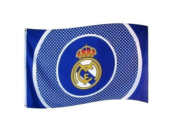 Real madrid  Flagga : 150x90cm