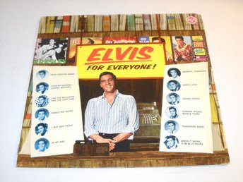 ELVIS PRESLEY - ELVIS FOR EVERYONE ! LP  SVAS-1011