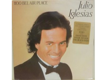 Julio Iglesias-1100 Bel Air Place / LP med insert