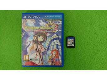 Dungeon Travelers 2 The Royal Library & The Monster Seal Playstation Vita