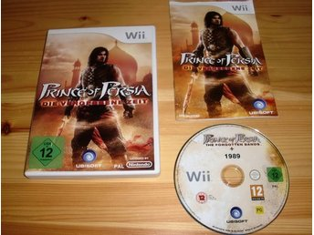 Wii: Prince of Persia the Forgotten Sands + 1989