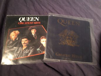 Queen Greatest hits I och II CD