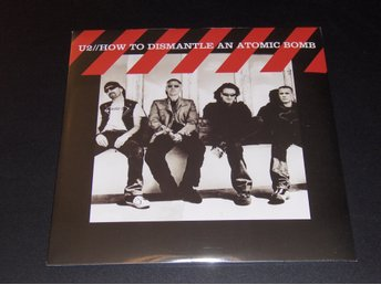 "U2 ""How to dismantle an atomic bomb"" (Ny, inplastad LP)"