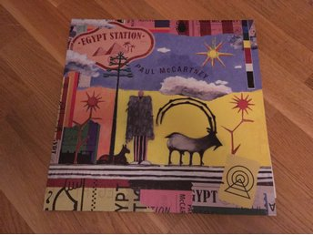 Paul McCartney - Egypt station - limited svart dubbel Vinyl (Beatles) ny