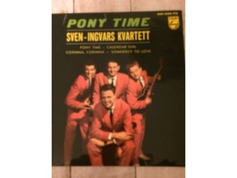 Sven Ingvars Ep Pony Time 1961