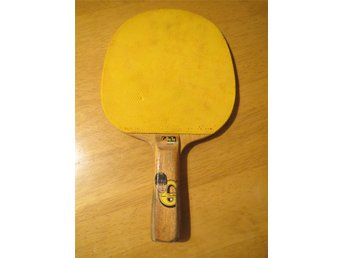 Bordtennisracket CeBeTe Lena Guntsch 1960-tal Bordtennis Stomme