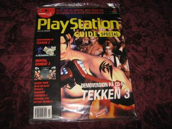 PLAYSTATION GUIDE SPECIAL MED DEMO CD (TEKKEN 2+3,MORTAL KOMBAT 3,TOSHINDEN 2 MM