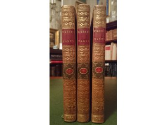 THE WORKS OF LAURENCE STERNE, SERMONS, 3 DELAR, LONDON, 1783
