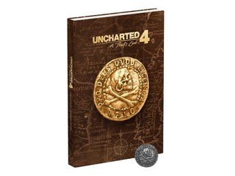 Uncharted 4: A Thief's End Collector's Edition Strategy Guide (inbunden)