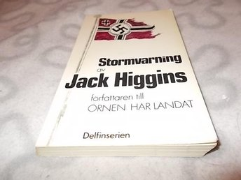 Jack Higgins - Stormvarning POCKET