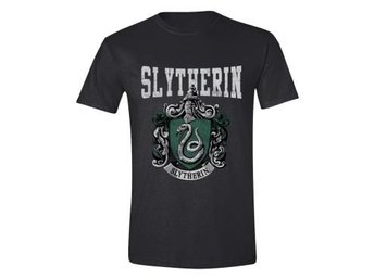Harry Potter T-shirt Slytherin Mörkgrå XL