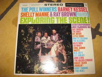 THE POLL WINNERS (Barney Kessel) - Exploring The Scene på Contemporary Rec S7581