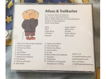 Alfons & Trollkarlen - musiksaga på CD Alfons Åberg, Georg Riedel) - östra Ljungby - Alfons & Trollkarlen - musiksaga på CD Alfons Åberg, Georg Riedel) - östra Ljungby