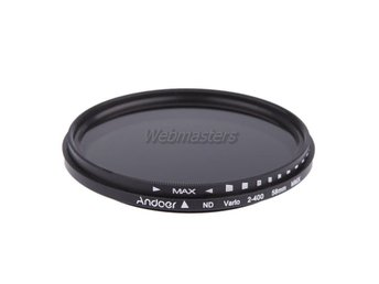 ND-filter ND2-ND400 Andoer 58mm