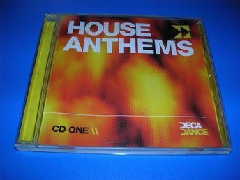 HOUSE ANTHEMS - cd one - moloko,afro medusa,pj,capriccio(cd)