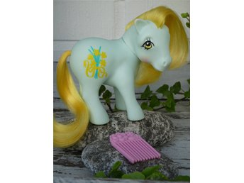 MLP - My Little Pony - G1 - Year 8 - Flower Pony - Daffodil with Flower Pick!