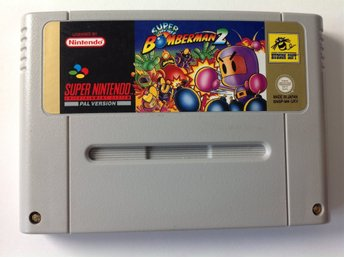 Super Bomberman 2 SNES Super Nintendo