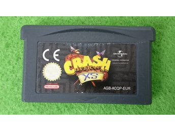 Crash Bandicoot XS GBA Gameboy Advance Nintendo GBA