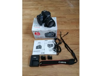 Canon EOS 1300D + 18-55 IS II + Extra batteri