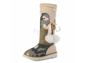 Dam Boots Mid Calf Boots Footwear Shoes Woman Beige 37