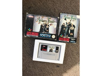 The addams family komplett snes SCN