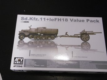 AFV  1/35 sdkfz  11 lefh18 value pack
