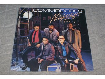 Commodores Nightshift Motown 1985 OBS ny inplastad