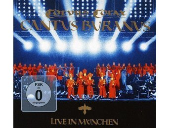 Corvus Corax - Cantus Buranus Live in Munchen CD+DVD, Box-Set