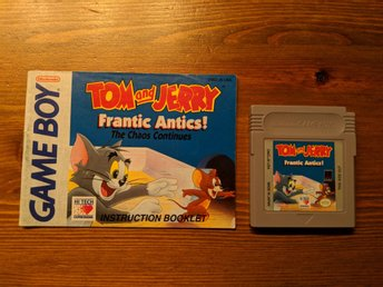 Tom and Jerry: Frantic Antics - Nintendo Gameboy Spel