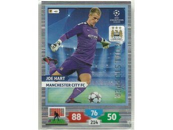 JOE HART -MANCHESTER C-GOAL STOPPER-CHAMPIONS LEAGUE 2013/14