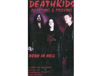 Officiellt original Deathkids -Live at the abyss 98 vhs NTSC