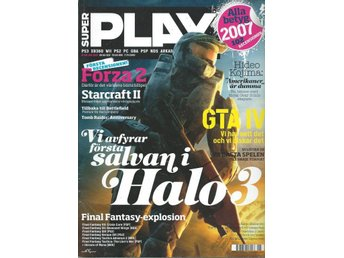 SUPER PLAY  NR 136  - FORZA 2 , GTA IV , HALO 3 ....