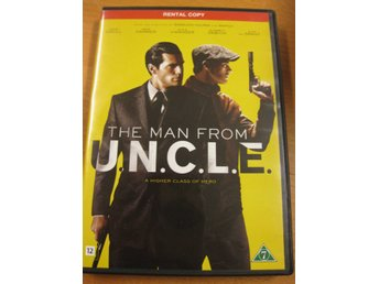 THE MAN FROM U.N.C.L.E. - DVD 2016