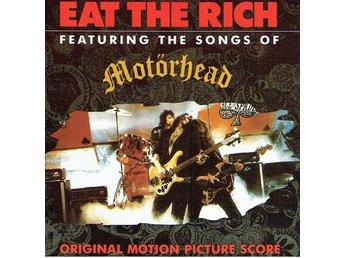 MOTÖRHEAD - EAT THE RICH: ORIGINAL MOTION PICTURE SOUNDTRACK. CD - Nacka - MOTÖRHEAD - EAT THE RICH: ORIGINAL MOTION PICTURE SOUNDTRACK. CD - Nacka