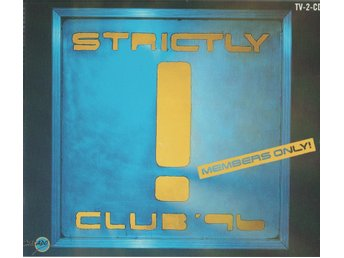 Strictly Club 96 2 CD 90-tal