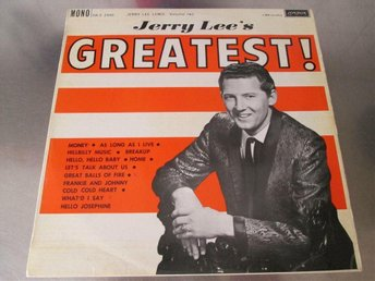 JERRY LEE LEWIS - JERRY LEE'S GREATEST! VOL.2, 1962, ROCKABILLY, COUNTRY, BLUES