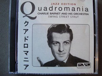 CD-BOX Charlie Barnet and his orchestra - Swing Street Strut, 4CD.