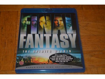 Final Fantasy - The Spirit Within - Bluray Blu-Ray